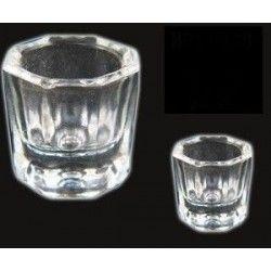 Bote para liquido porcelana o acrilico
