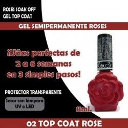 02-Top coat Roses-Gel semipermanente 11ml