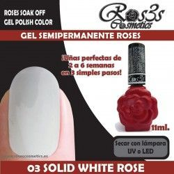 03 Solid White Roses 11ml