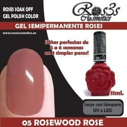 05 Rosewood Rose-Gel Semipermanente 11ml