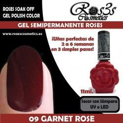 09 Garnet Rose - Gel semipermanente 11ml.