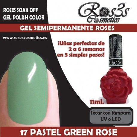 17 Pastel Green Rose 11ml.