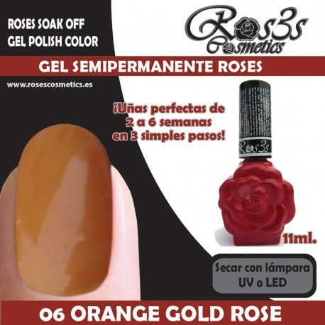 06 Orange Gold Rose 11ml.