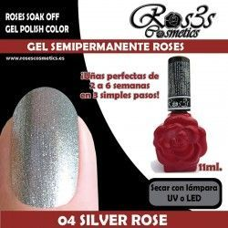04 Silver Rose -Gel Semipermanente 11ml