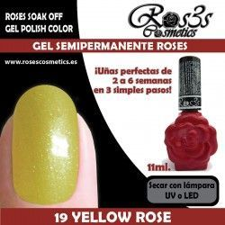 19 Yellow Rose - Gel semipermanente 11ml.