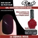 23 Sienna Rose - Gel semipermanente 11ml.